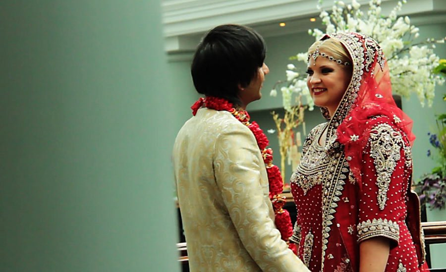 Nikah ceremony at the Hyatt Hotel, Birmingham