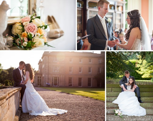 Wedding Photography of Louise and Richard at Prestwold Hall