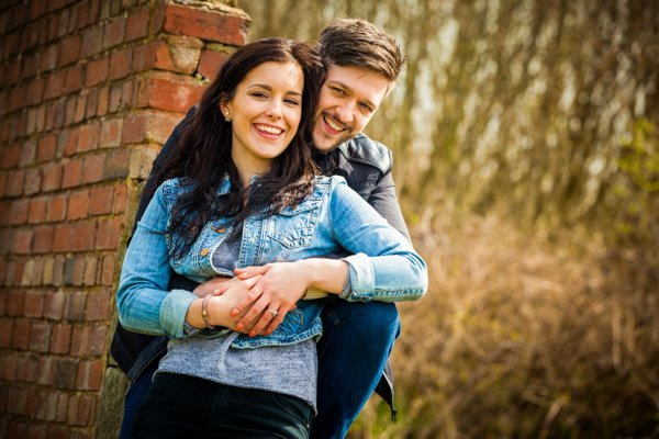 jake and kiera engagement shoot