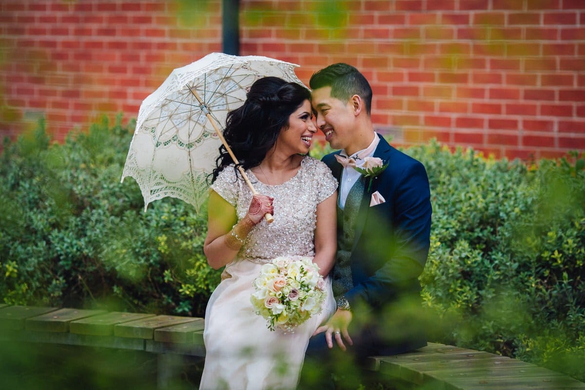 Multicultural wedding photography of Leanne and Kwok