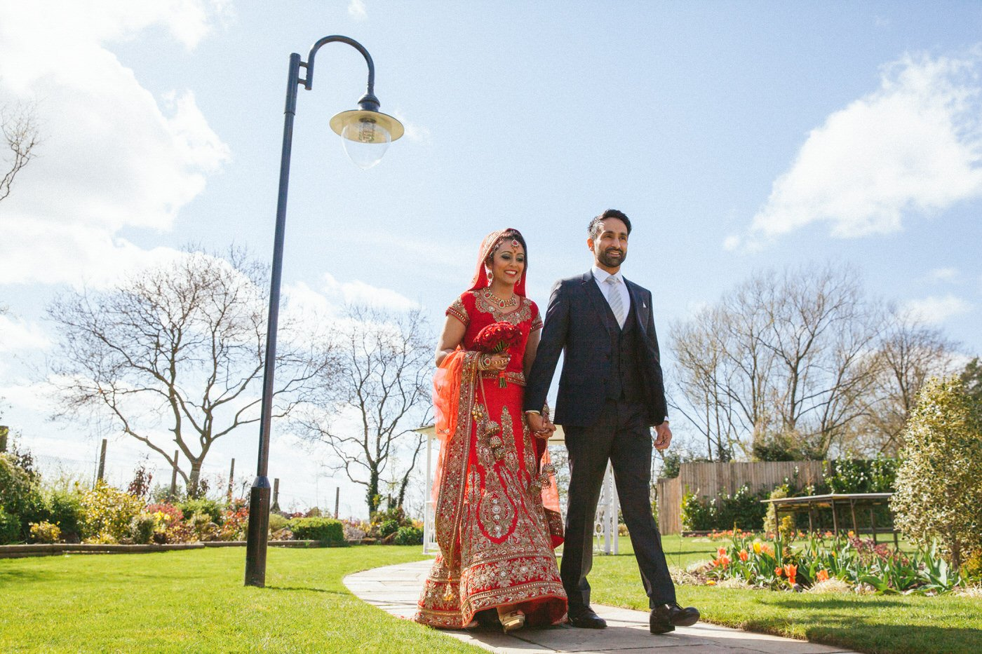 Tina and Televinder :: Sikh Wedding Photography at Park Hall