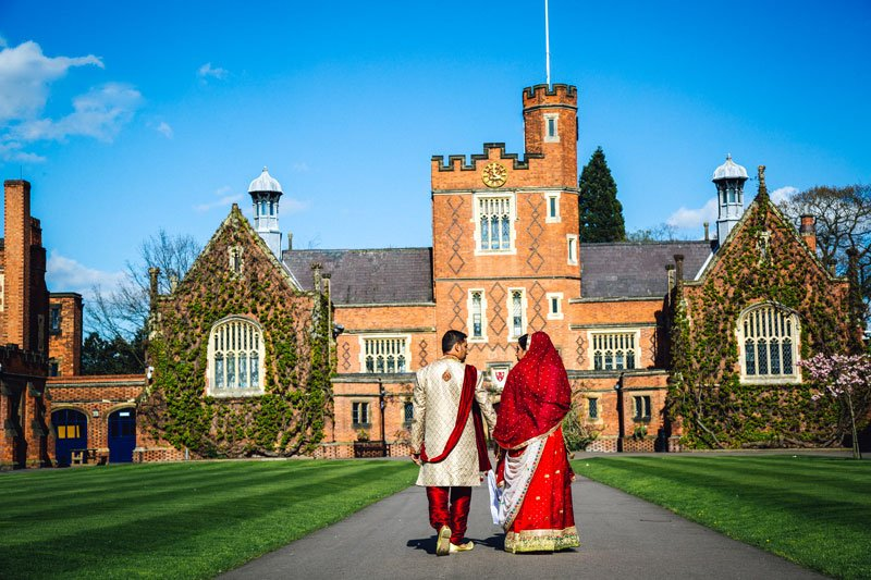 Wedding Photography at Loughborough Grammar School // Hiten & Pooja