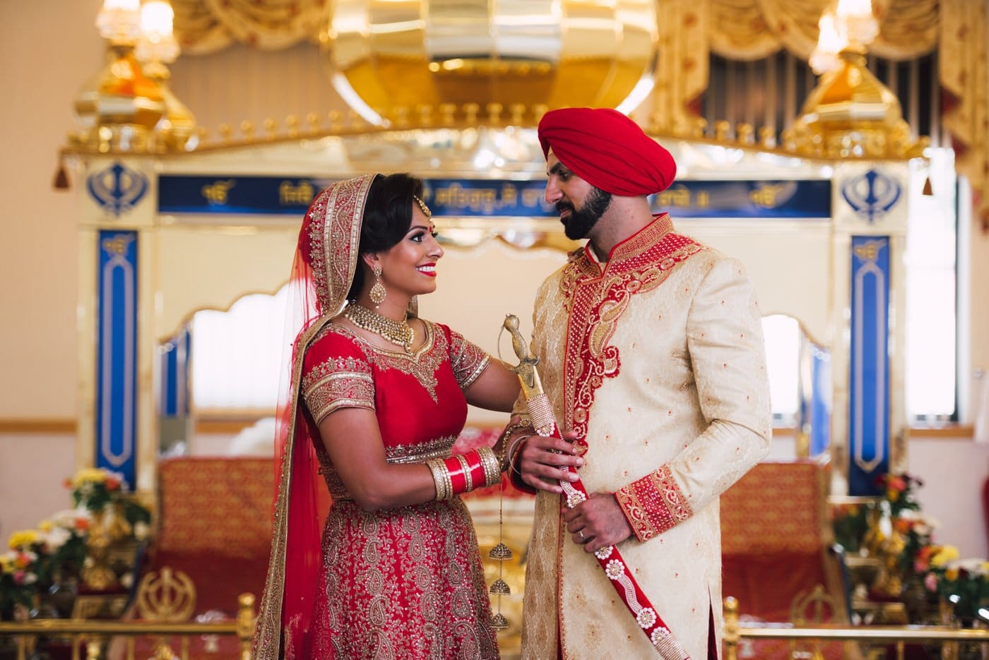 Sikh Wedding Photography and Videography at Supreme Banqueting Suite // Rose & Jag