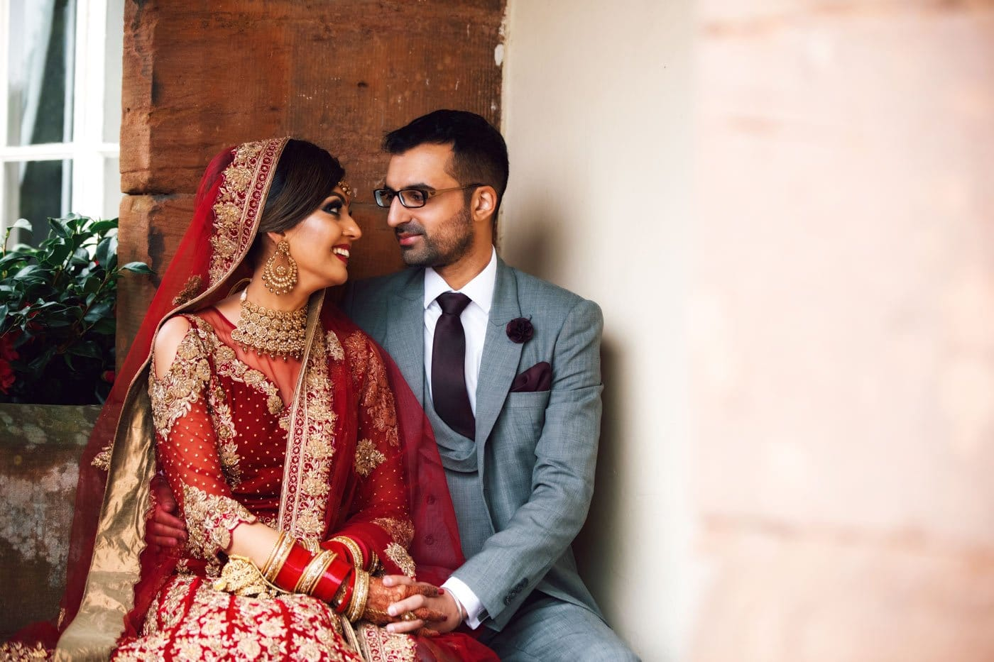 Indian Wedding Photography at Heart of England // Amandeep & Sandeep