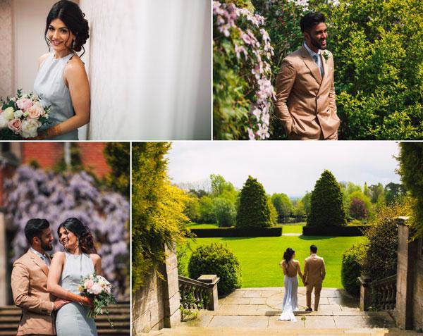 Civil wedding at dunchurch Park