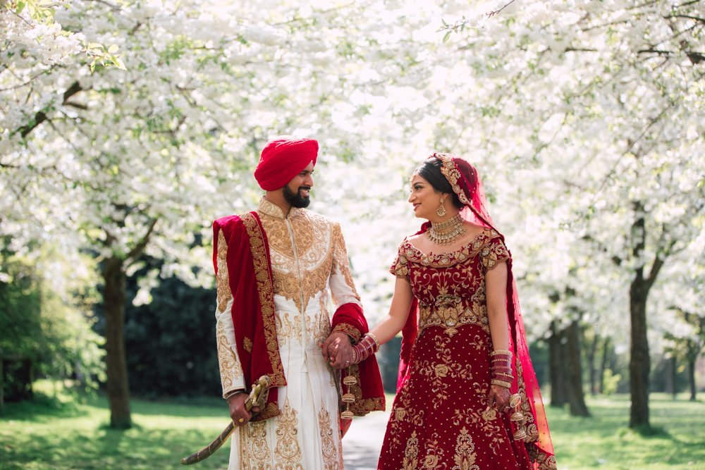 Sikh Wedding Photography at Prestige Banqueting Suite, Birmingham // Jin & Raman
