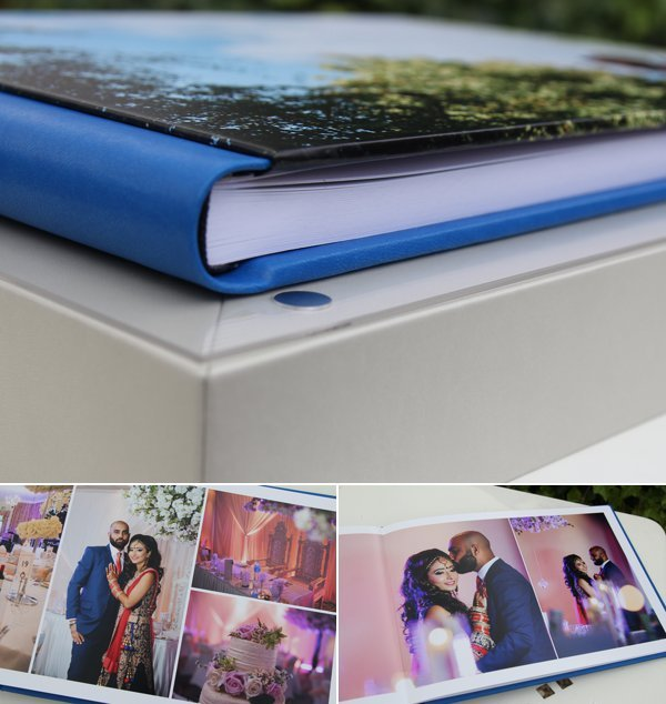 Gobook-album design with bue spine