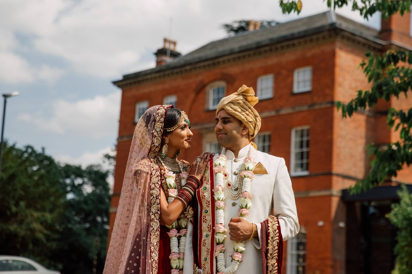 Indian Wedding Photography and Videography at Winstanley House // Kishan & Florika