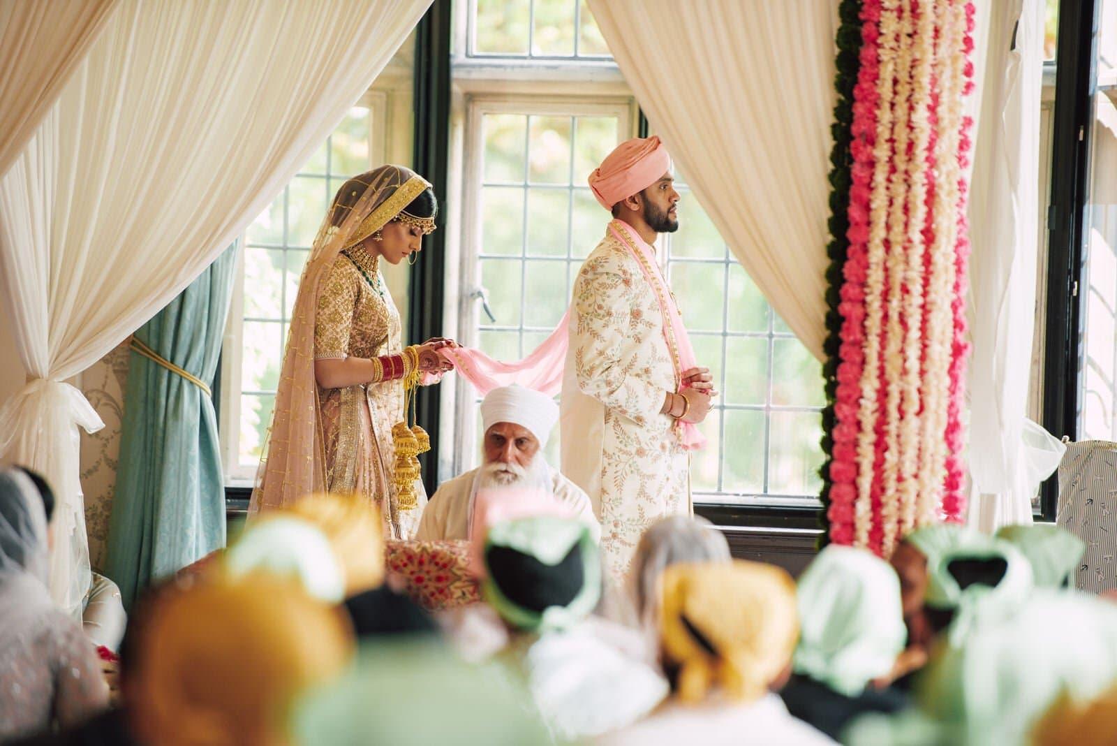 Sikh wedding photography at Dunchurch Park Hall