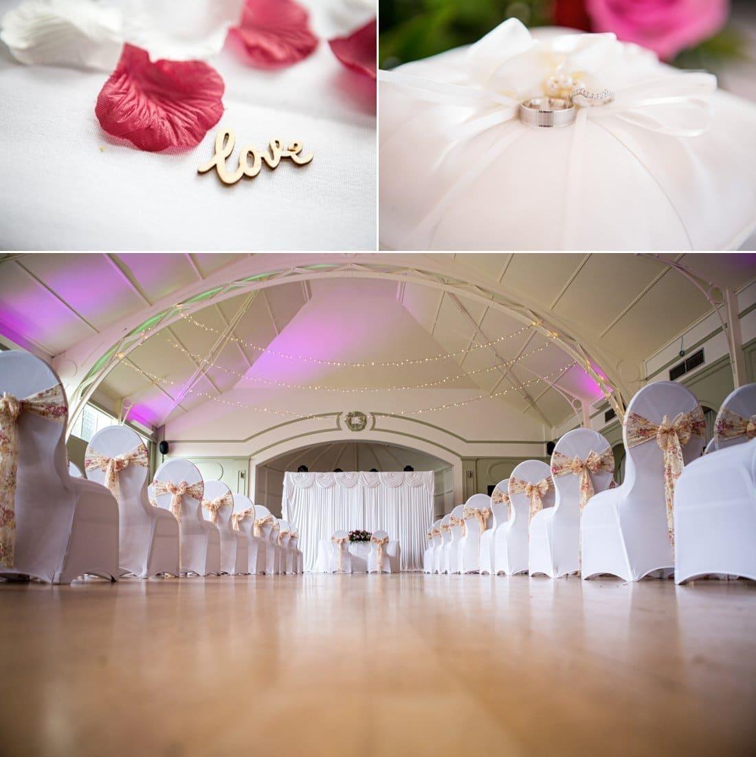 Birmingham wedding photographer at Botanical Gardens