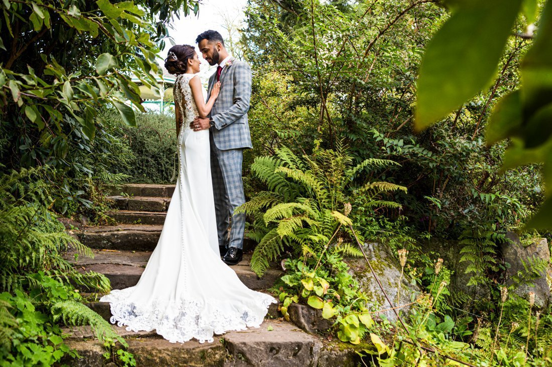 Civil wedding photography at Botannical Gardens 2