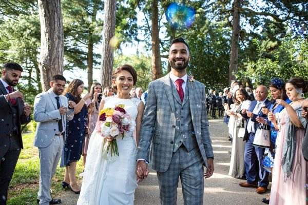 Wedding Photography and Videography at Botanical Gardens // Mica & Hiren