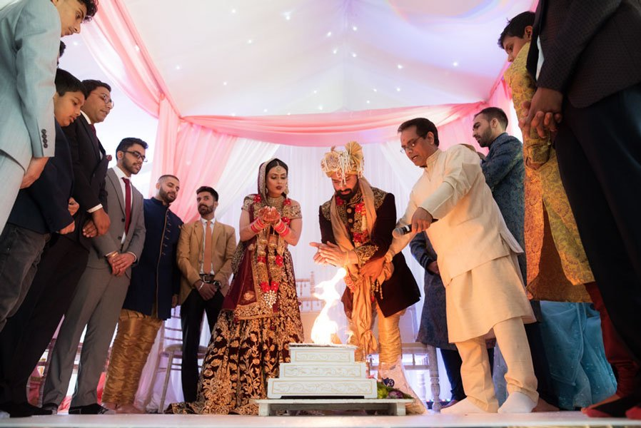 hindu wedding at alrewas hayes