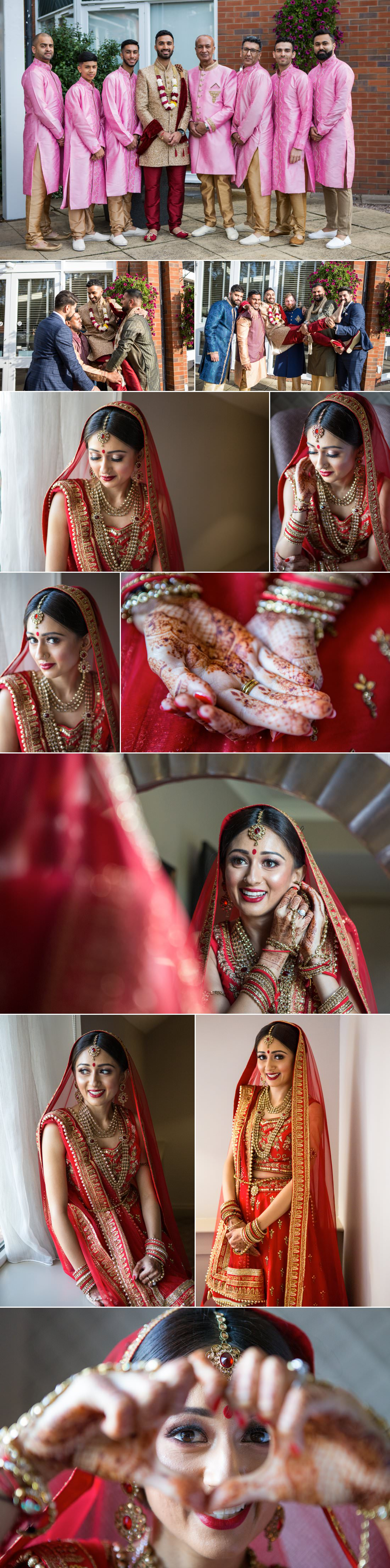 indian wedding photography at the belfry hotel