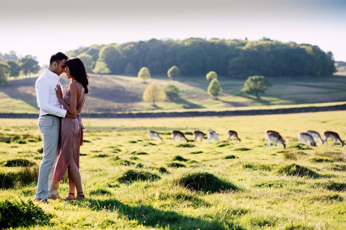 bradegate country park pre wedding shoot