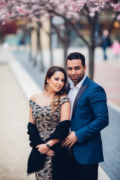 brindley place pre wedding shoot