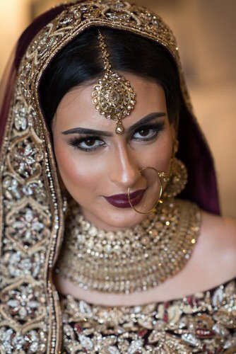 indian bridal phototography