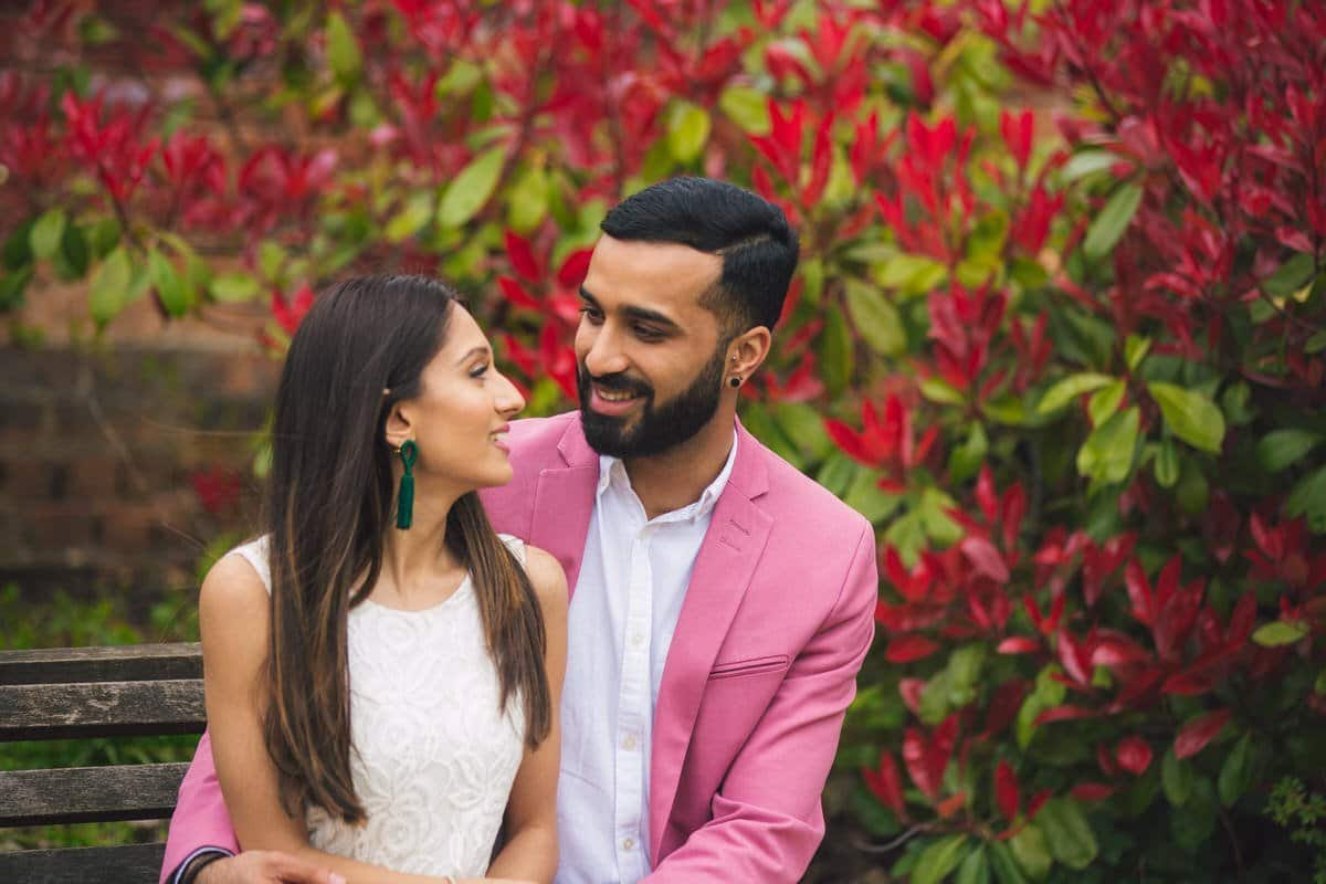 walsall arboretum pre wedding shoot