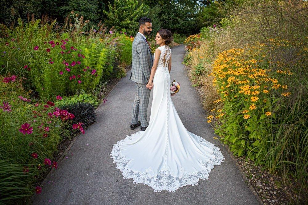 Wedding Photography at Botanical Gardens, Birmingham