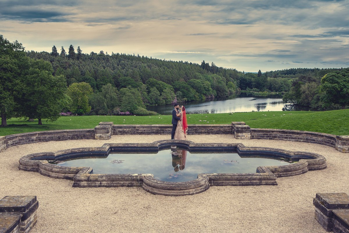wedding photography at osmaston park