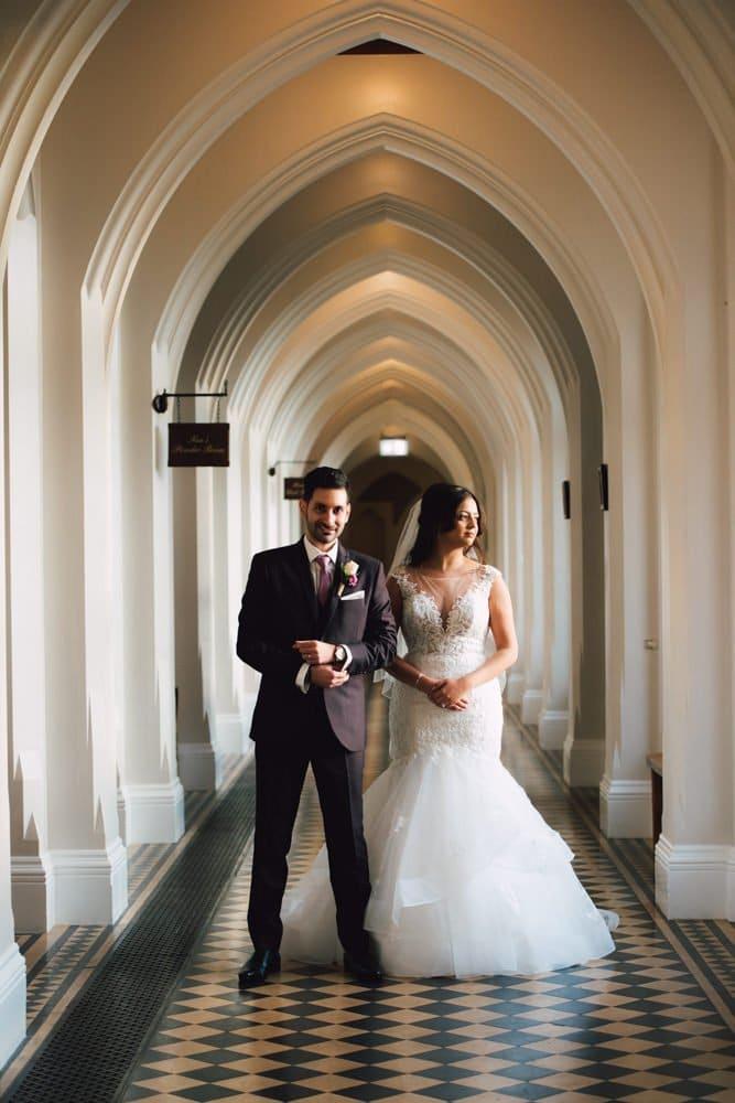 Wedding photography at Standbrook Abbey