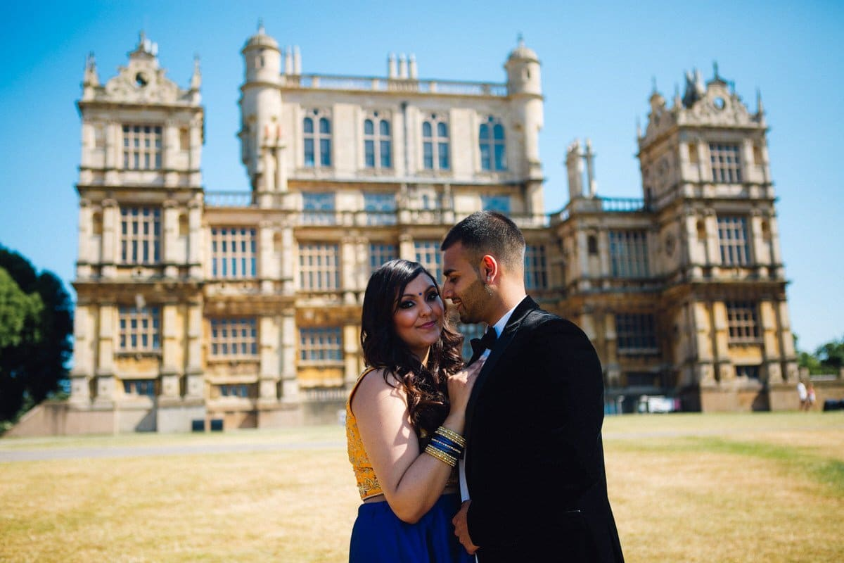 wollaton park pre wedding shoot