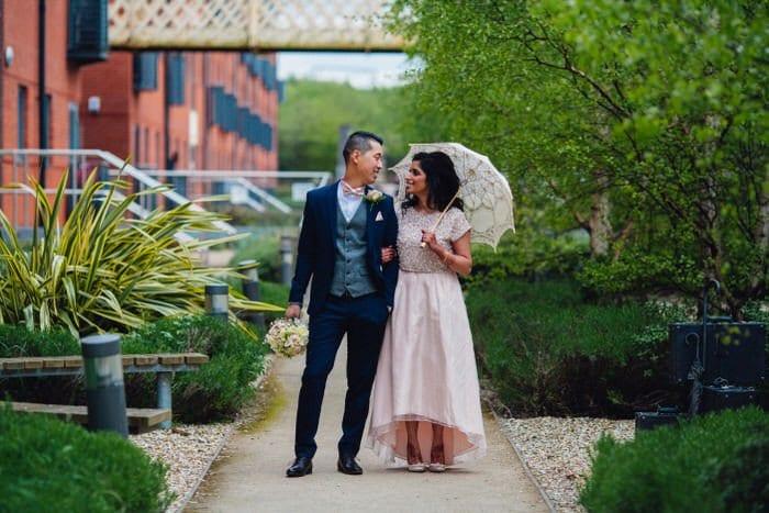 Fusion Wedding photography at Grand Station
