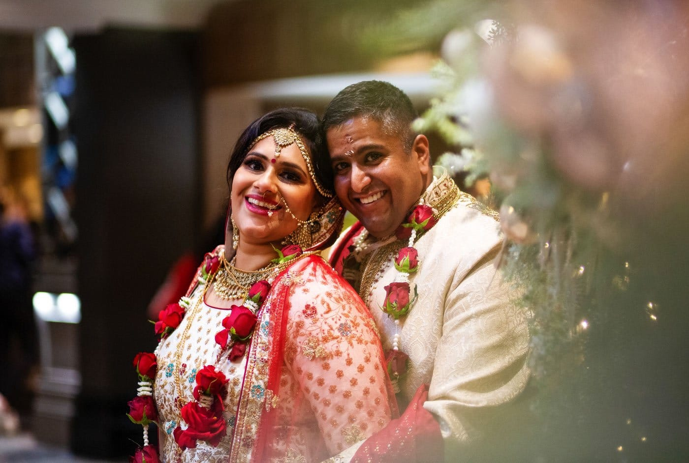 Indian Christmas Wedding at the Belfry Hotel // Amish and Michelle