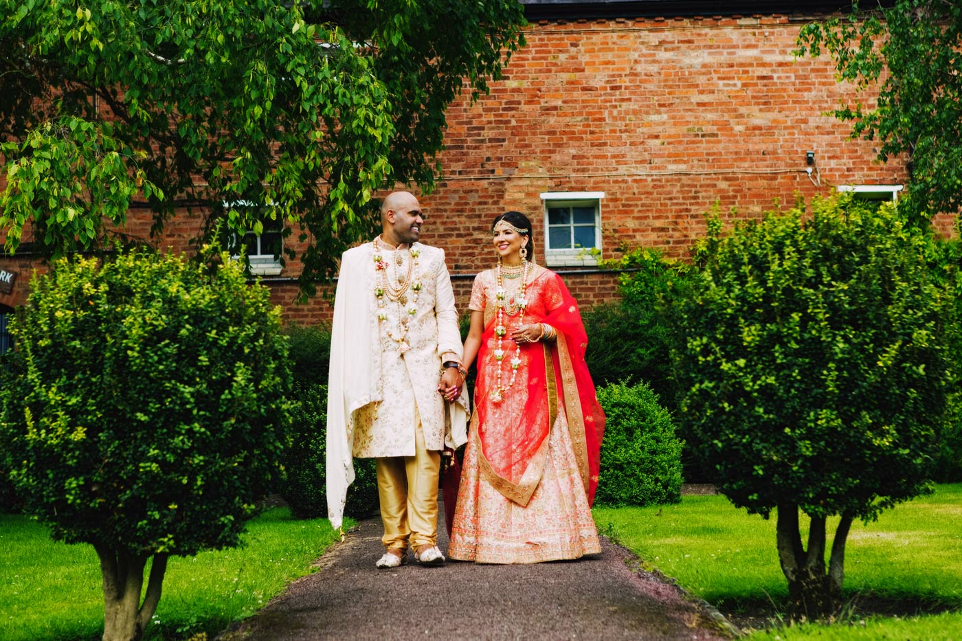 Winstanley House Hindu Wedding Photography // May and Mez